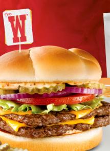 wendys free w burger with printable coupon