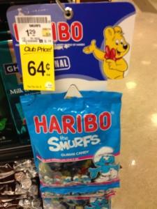 Haribo Smurfs SW