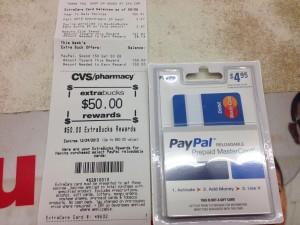 cvs purchase 150 mastercard gift card get 50 ecb bargain believer. Black Bedroom Furniture Sets. Home Design Ideas