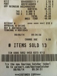 My Review of Walmart's New Savings Catcher Program | Bargain