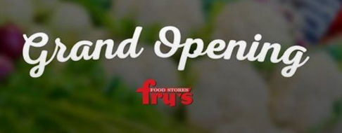 fry's grand opening