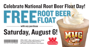 root bear float day