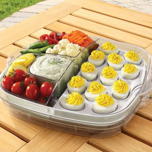 pampered chef tray