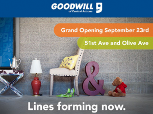Goodwill Grand Opening In Glendale 5 Coupon For Donation