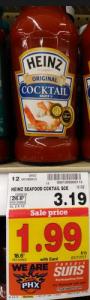Heinz cocktail sauce coupons