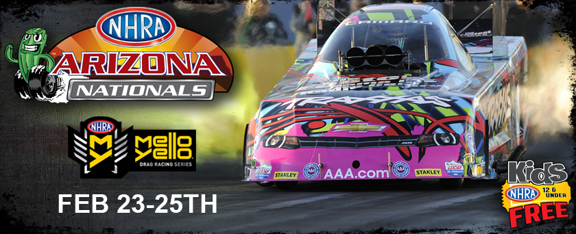You'll also find all the current NHRA merchandise including driver apparel, souvenirs and more from teh NHRA Mello Yello Drag Racing Series. Be sure to get great savings and discounts on your next order or purchase by taking advantage of NHRA Online coupon codes, special offers and exclusive deals.