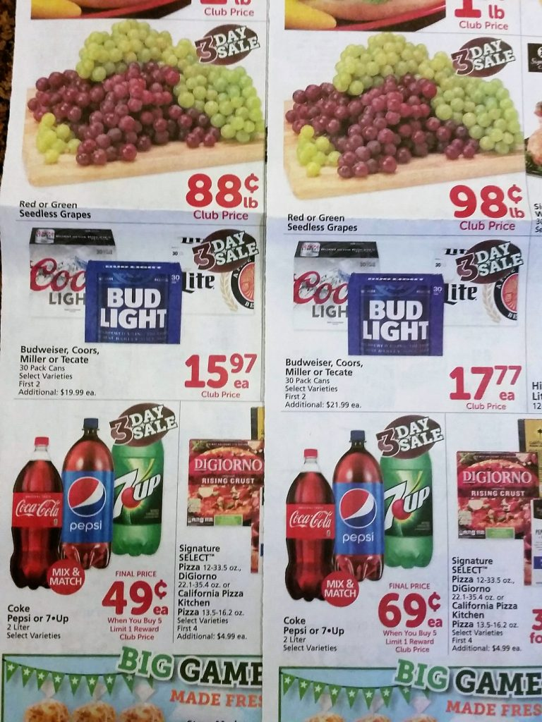 Bargain believer archive safeway price differences in safeway ads based on location buycottarizona
