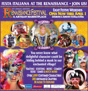 graphic about Renaissance Festival Coupons Printable named AZ Renaissance Pageant Price savings 2019 Ticket GIVEAWAY