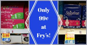 image relating to Frys Printable Coupons named Clean Printable Coupon codes \u003d Stayfree and Carefree Simply 99¢ at