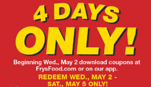 photo relating to Frys Printable Coupons known as Burden Frys Electronic Discount codes ~ $2 Off $40 and 4 Working day Sale with
