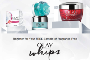 Free Sample of Olay Whips   Bargain Believer